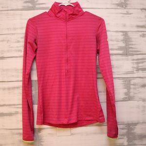 Nike Pro Dri Fit 3/4 Zip Up Pullover